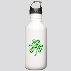 Irish Shamrocks Stainless Water Bottle 1.0L