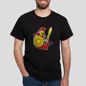 Red Roman Warrior Dark T-Shirt