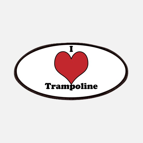 I Love Trampoline Patches