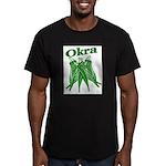 OIKRA Men's Fitted T-Shirt (dark)