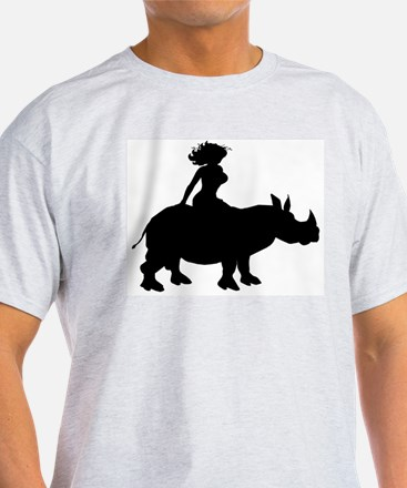 lady_rhino T-Shirt