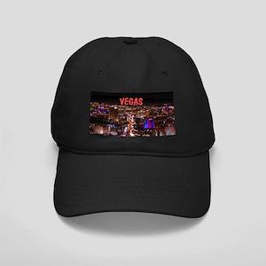 Vegas Strip Black Cap