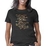 2nd amendment script dk Women's Classic T-Shirt