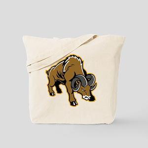 Charging Ram Tote Bag