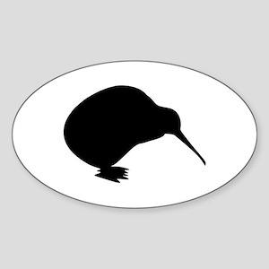 Kiwi bird Sticker (Oval)