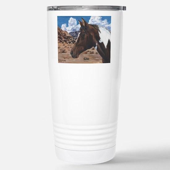 Desert Paint Horse Stainless Steel Travel Mug