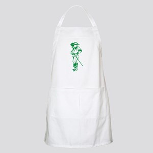 Green Musketeer Apron
