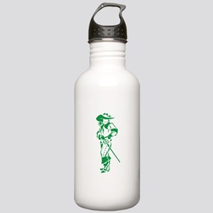 Green Musketeer Stainless Water Bottle 1.0L