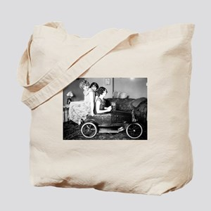 Flappers in a Flivver Tote Bag