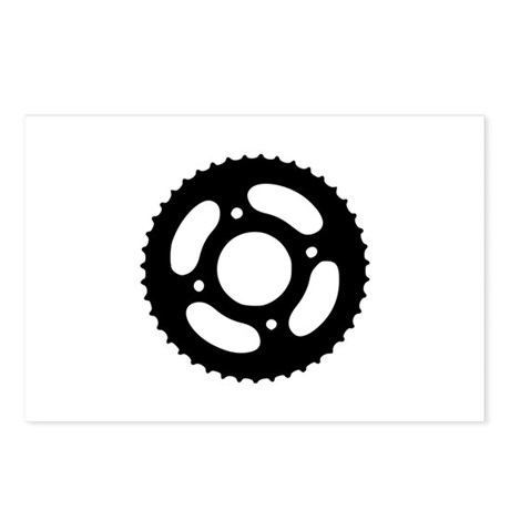 Bicycle gear Postcards (Package of 8)