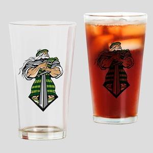 Zeus Warrior Drinking Glass