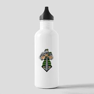 Zeus Warrior Stainless Water Bottle 1.0L