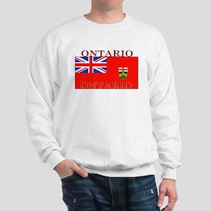 Ontario Ontarian Flag Sweatshirt