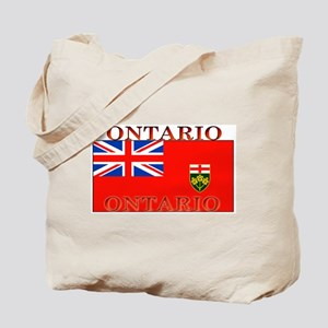 Ontario Ontarian Flag Tote Bag