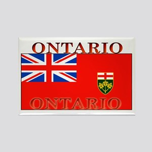 Ontario Ontarian Flag Rectangle Magnet
