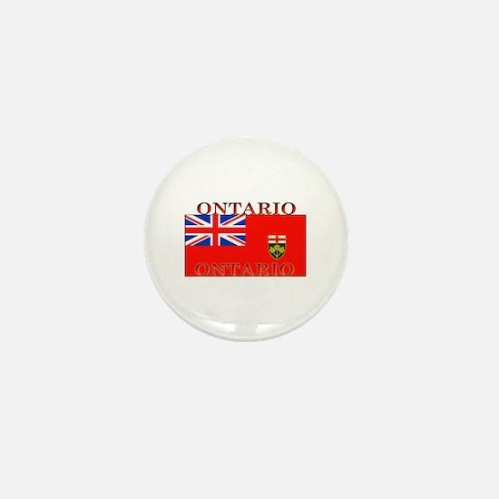Ontario Ontarian Flag Mini Button