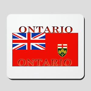Ontario Ontarian Flag Mousepad