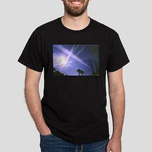 Chemtrail Web Black T-Shirt