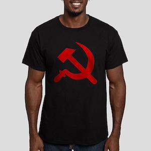 hammerandsickle2Black T-Shirt