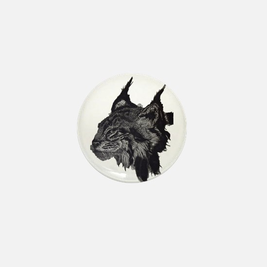 Linx Wild Cat Mini Button