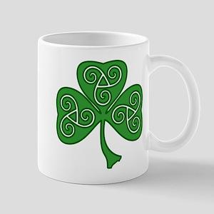 Celtic Shamrock Mug
