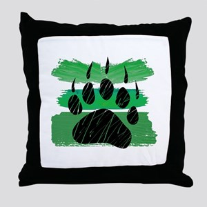 LEAVE A MARK Throw Pillow