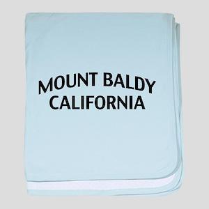 Mount Baldy California baby blanket