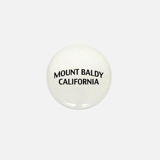 Mount Baldy California Mini Button