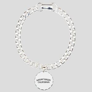 Mount Baldy California Charm Bracelet, One Charm