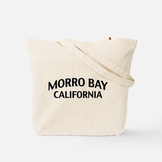 Morro Bay California Tote Bag