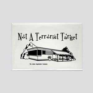 Not A Terrorist Target Rectangle Magnet