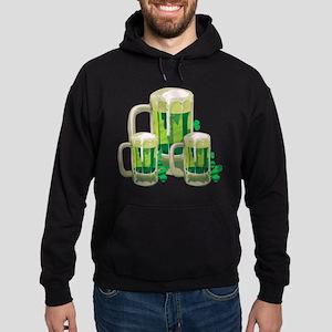 Green Beer Hoodie (dark)