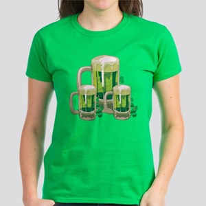 Green Beer Women's Dark T-Shirt