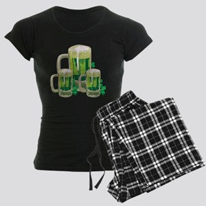 Green Beer Women's Dark Pajamas