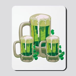 Green Beer Mousepad