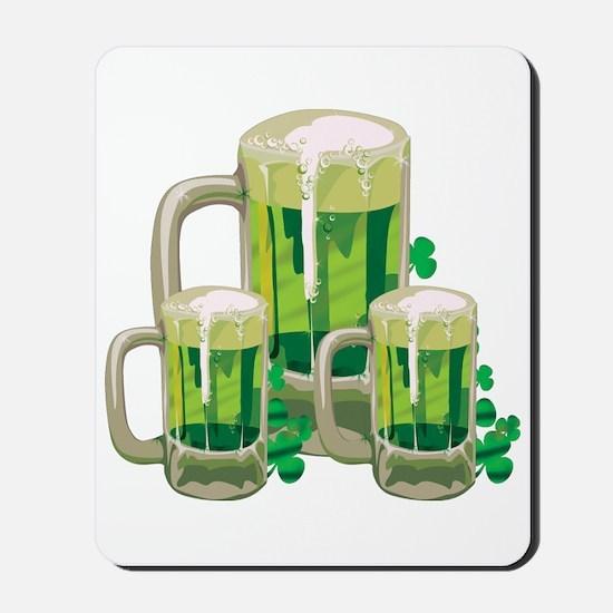 Green Beer Mousepad