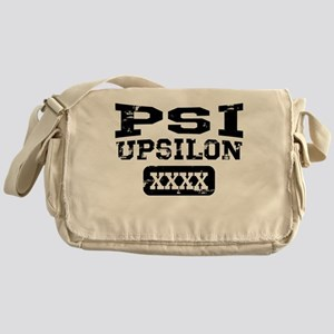 Psi Upsilon Athletics Personalized Messenger Bag