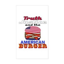 Truth, Justice and the American Sticker (Rectangle