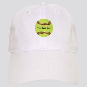 Customize Softball Name Cap