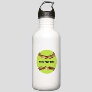 Customize Softball Nam Stainless Water Bottle 1.0L