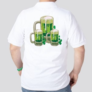 Green Beer Golf Shirt
