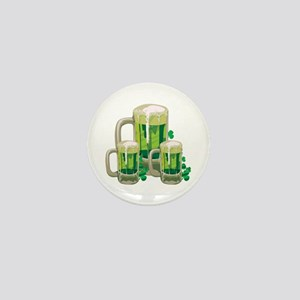 Green Beer Mini Button