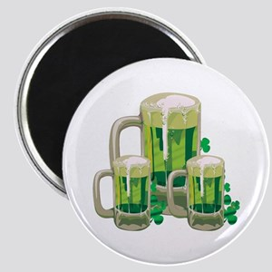 Green Beer Magnet