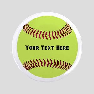 Customize Softball Name Button
