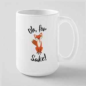 Oh For Fox Sake Funny Mug Mugs