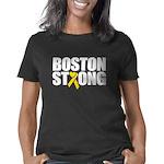 Boston Strong Ribbon Women's Classic T-Shirt