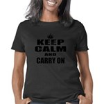 Custom Keep Calm Women's Classic T-Shirt