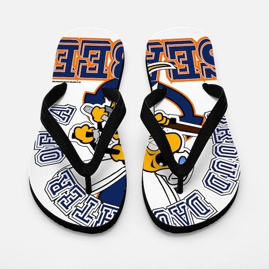 Navy Seabee 2 Flip Flops