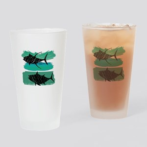 RIDE THE SURF Drinking Glass