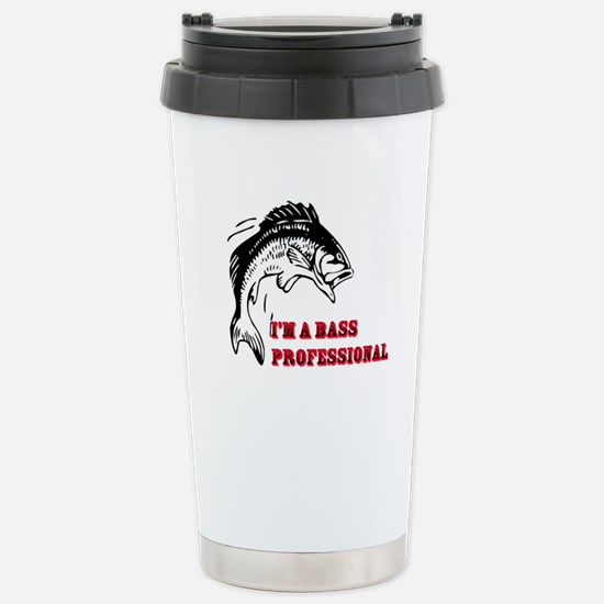 I'm a Bass Professional Stainless Steel Travel Mug